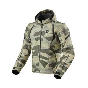 GIACCA FLARE2 Camo Light Green Fronte